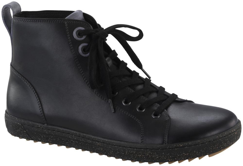 Bartlett Men Black natural leather