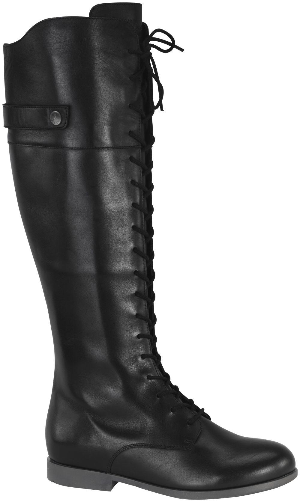 Longford Black natural leather