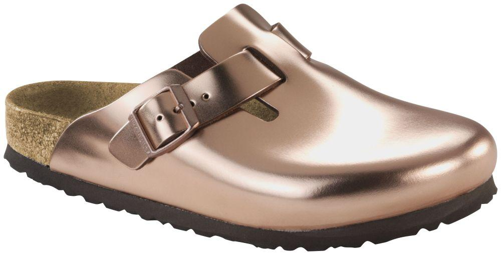 Boston Metallic Copper Soft Footbed smooth leather
