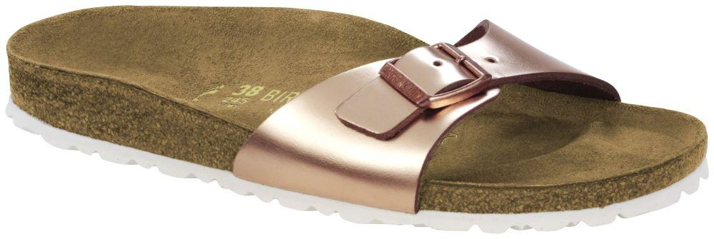 Madrid Metallic Copper natural leather