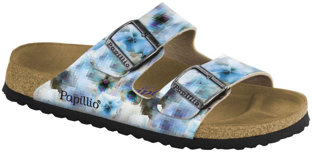 Arizona Pixel Blue Soft Footbed Birko-Flor