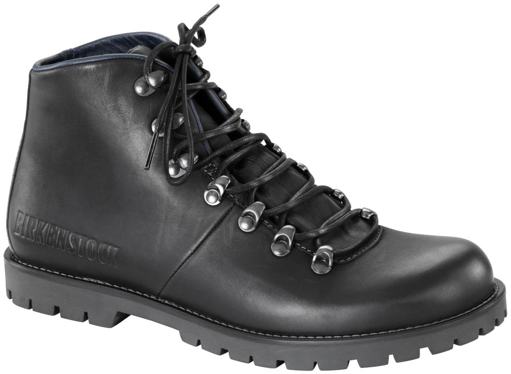 Hancock Black natural leather