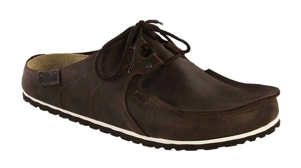 Super-Skipper Rustic Dark Brown Leather