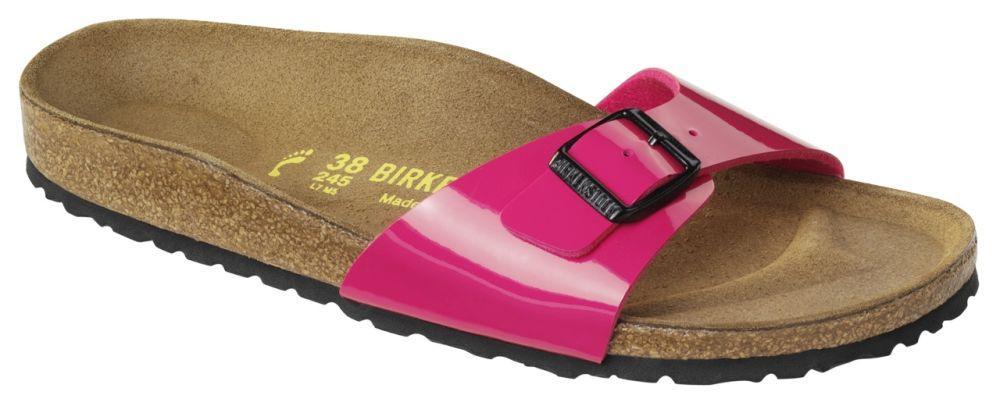 Madrid Pink Patent Birko-Flor patent