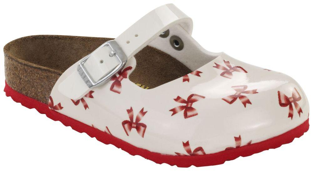 Maria Kids Red / White Birko-Flor