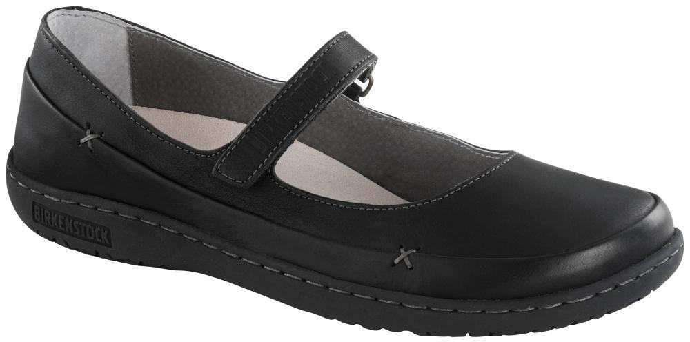 Iona Black smooth leather