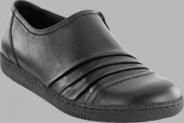 Mykonos Black Leather