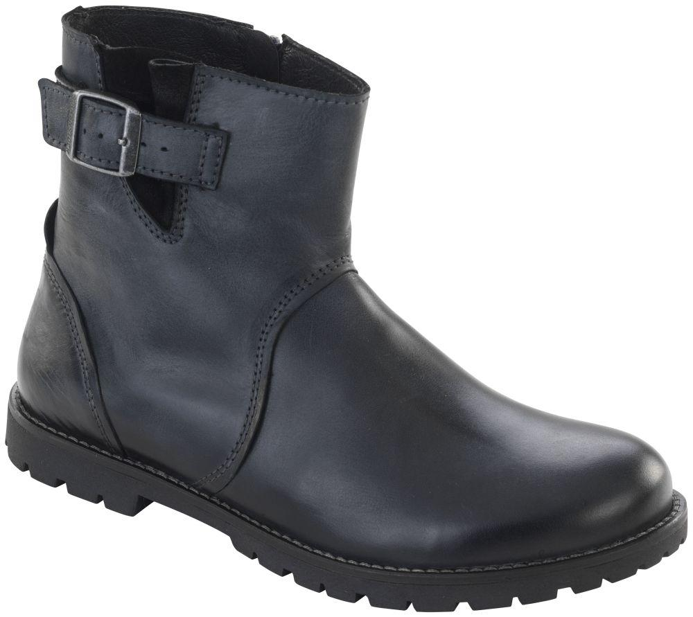 Stowe Black natural leather