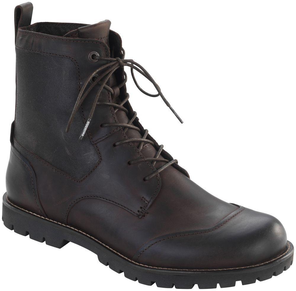 Gilford High Dark Brown Leather