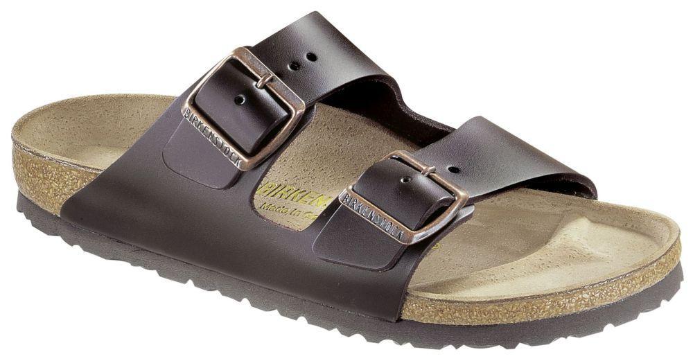 Arizona Dark Brown smooth leather