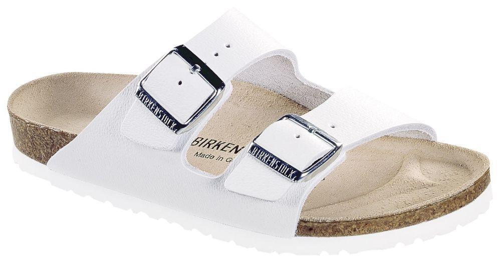 Arizona White smooth leather