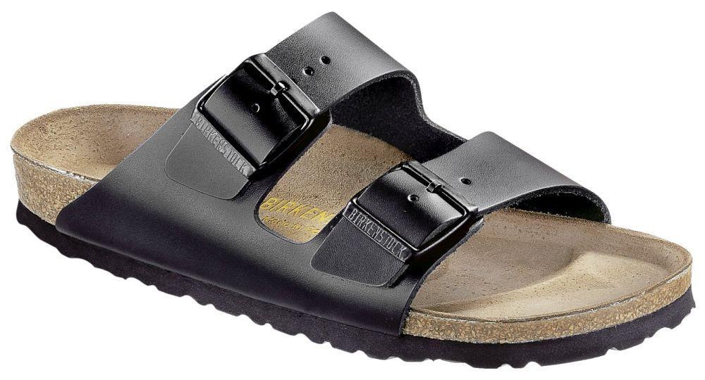 Arizona Black smooth leather