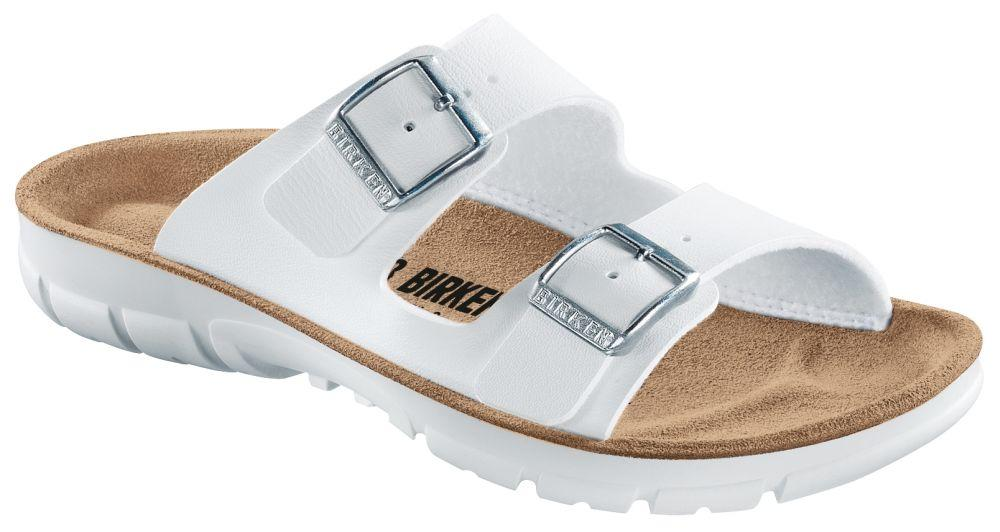 Bilbao White Soft Footbed Birko-Flor