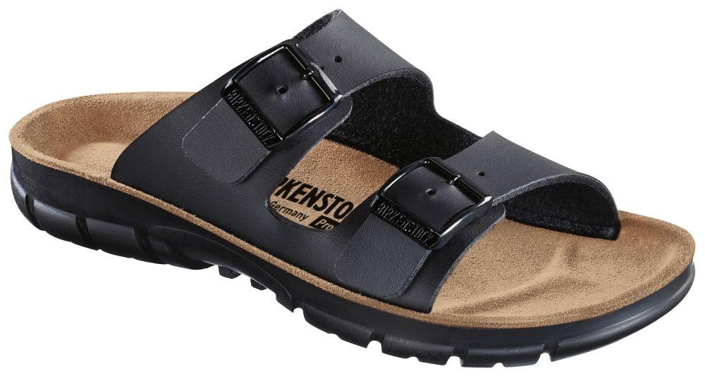 Bilbao Black Soft Footbed Birko-Flor