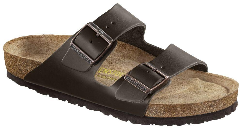 Arizona Brown Soft Footbed smooth leather