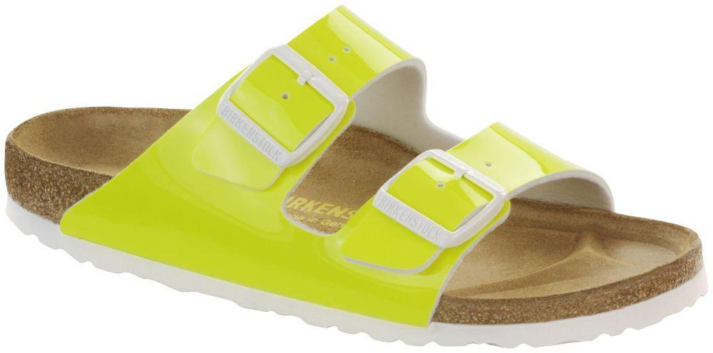 Arizona Neon Yellow Patent Birko-Flor patent