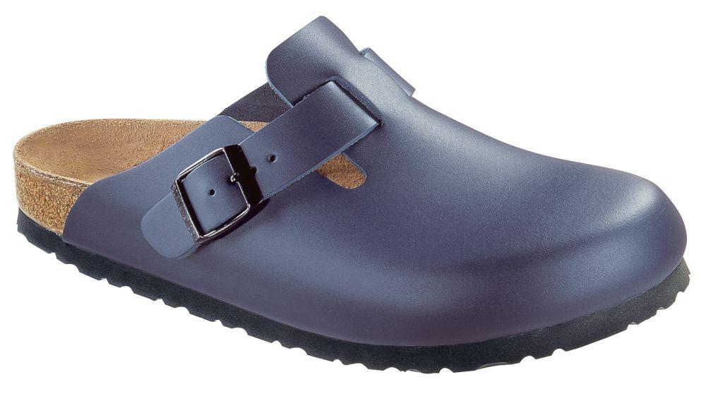 Boston Blue smooth leather