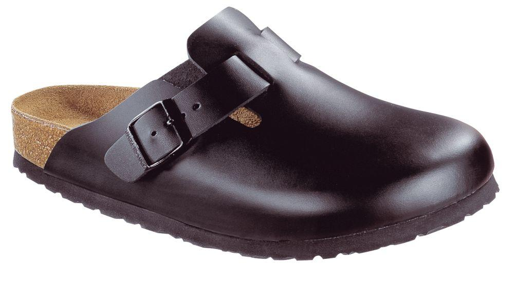Boston Black Soft Footbed smooth leather