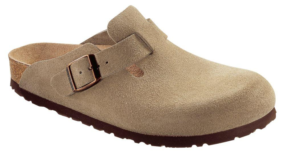 Boston Taupe suede leather