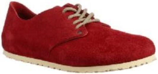 Maine Dark Red Beige Leather