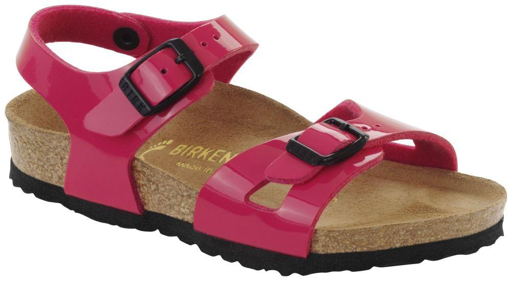 Rio Kids Pink Patent Birko-Flor patent